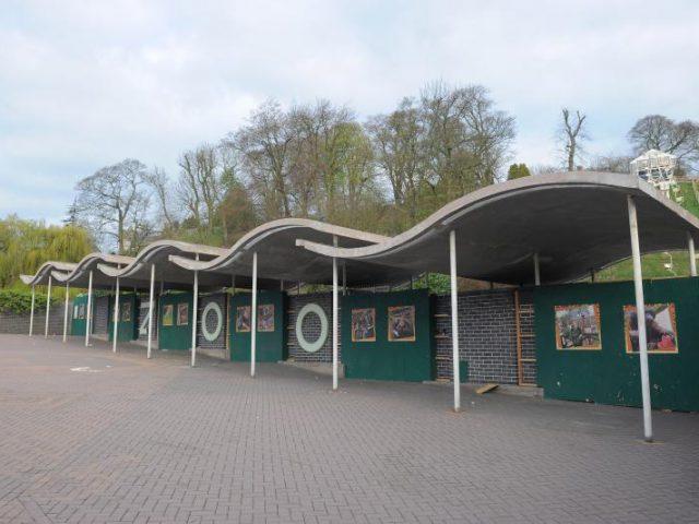 Shop & Entrance Building